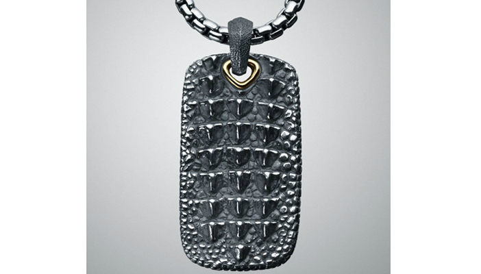MARKET REVIEW DAVID YURMAN CROCODILE DOG TAG The StyleBoston Blog