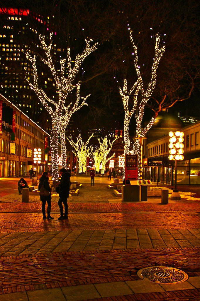 Boston Night - With An E Photography