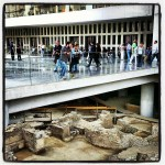 Old meets new at the breathtaking Acropolis museum.
