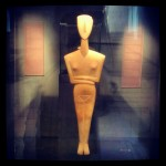 Stunning ancient artefacts at the Museum of Cycladic Art.