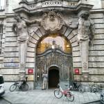 Grand Bavarian entrances.