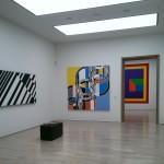 Lenbachhaus interior gallery.