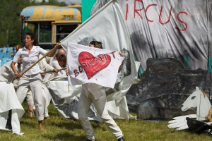 Bread and Puppet Nothing is not Ready Circus