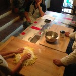 Gnocchi dough, from riced potatoes