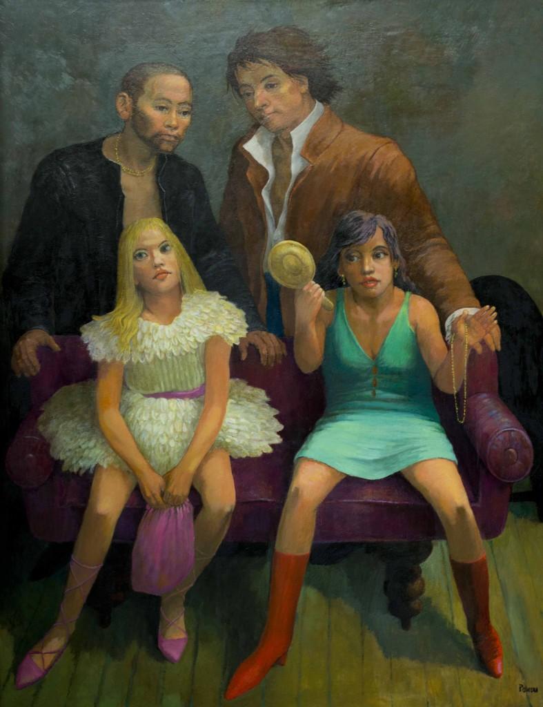 ART TALK 10_Vanitas, or Models (An Homage to Goya's 'Majas on a Balcony'), 2006