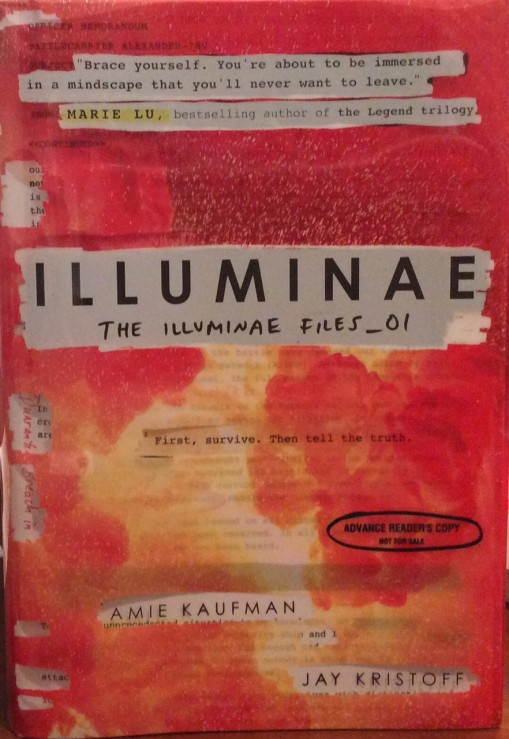BEA book:Illuminae