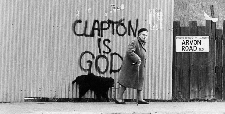 clapton is god original