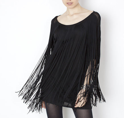 Phillip Lim fringe dress.