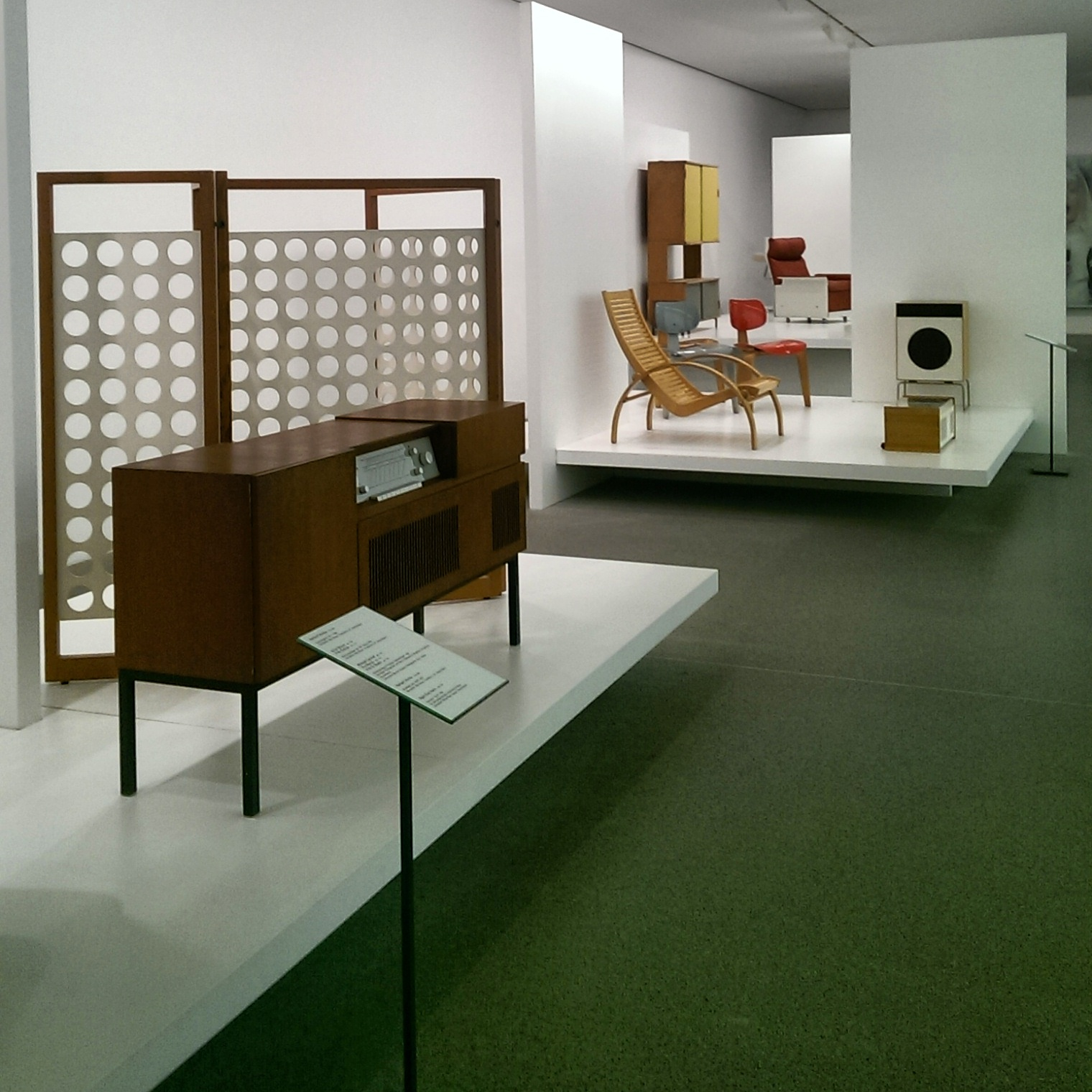 Mid Twentieth Furniture Collection At The Pinakothek Der Moderne