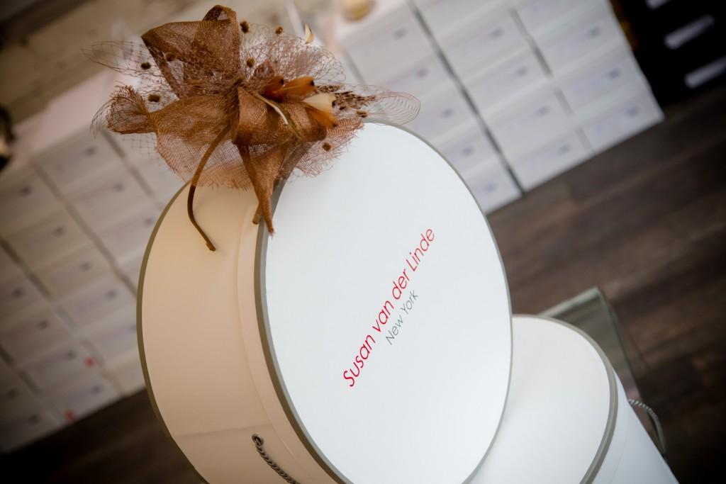 Susan van der Linde hat box