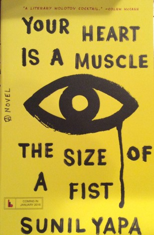BEA book fair-The Size of a Fist