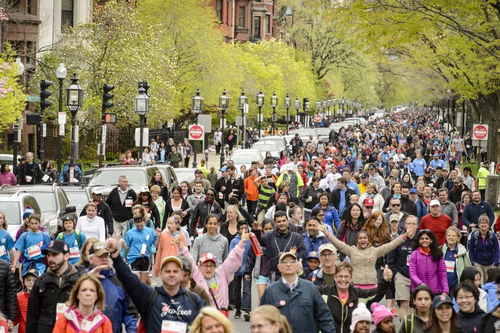 Project Bread - The Walk for Hunger - Boston, Massachusetts - May 1, 2016